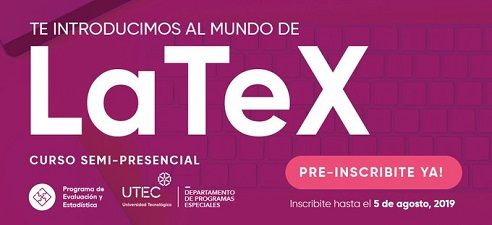 Introducción al mundo de LaTeX