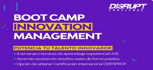 Bootcamp Innovation Management -Becas